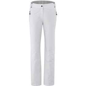 Maier Sports Vroni Slim Pantalones Stretch MTEX Mujer, white